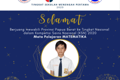 Joseph Joshua Anggita - SMPKKK Sorong
