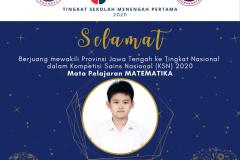 Raymond Christopher Tanto - SMPKKK Surakarta