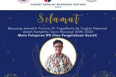 Daniel Jacob Alexander Purba - SMPKKK Yogyakarta